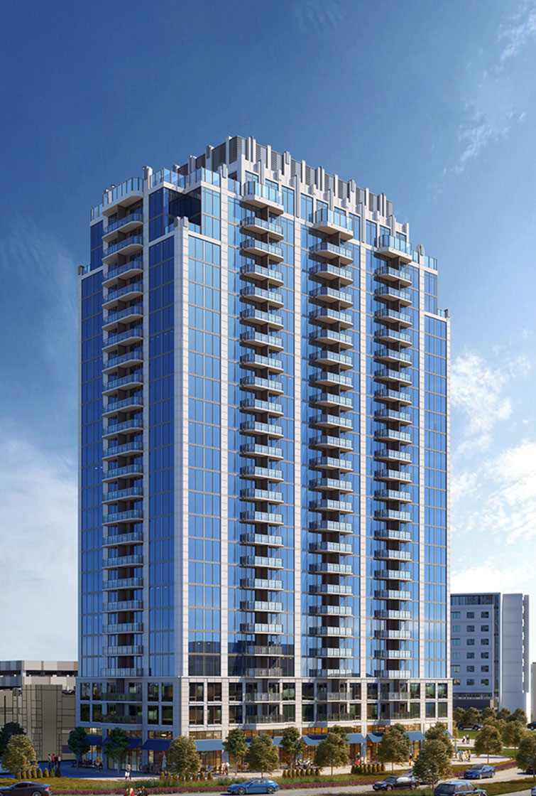 SkyHouse Frisco stacking plan